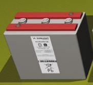 Sunlight 12v RES OPzV batteries
