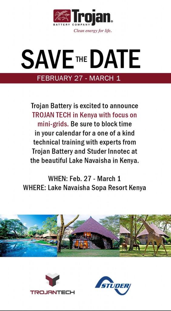 Trojan Battery with Studer Innotec